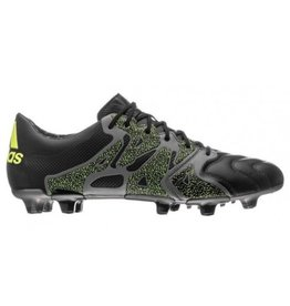 Adidas X 15.1 FG/AG Leather zwart voetbalschoenen heren