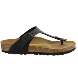 Birkenstock Gizeh zwart slippers dames