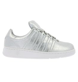 K-Swiss Classic VN aged foil zilver sneakers dames