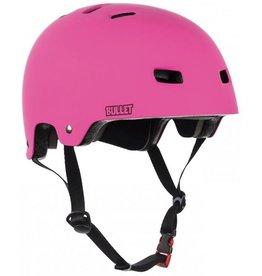 Bullet Deluxe Helmet T35 junior Grom roze veiligheidshelm meisjes