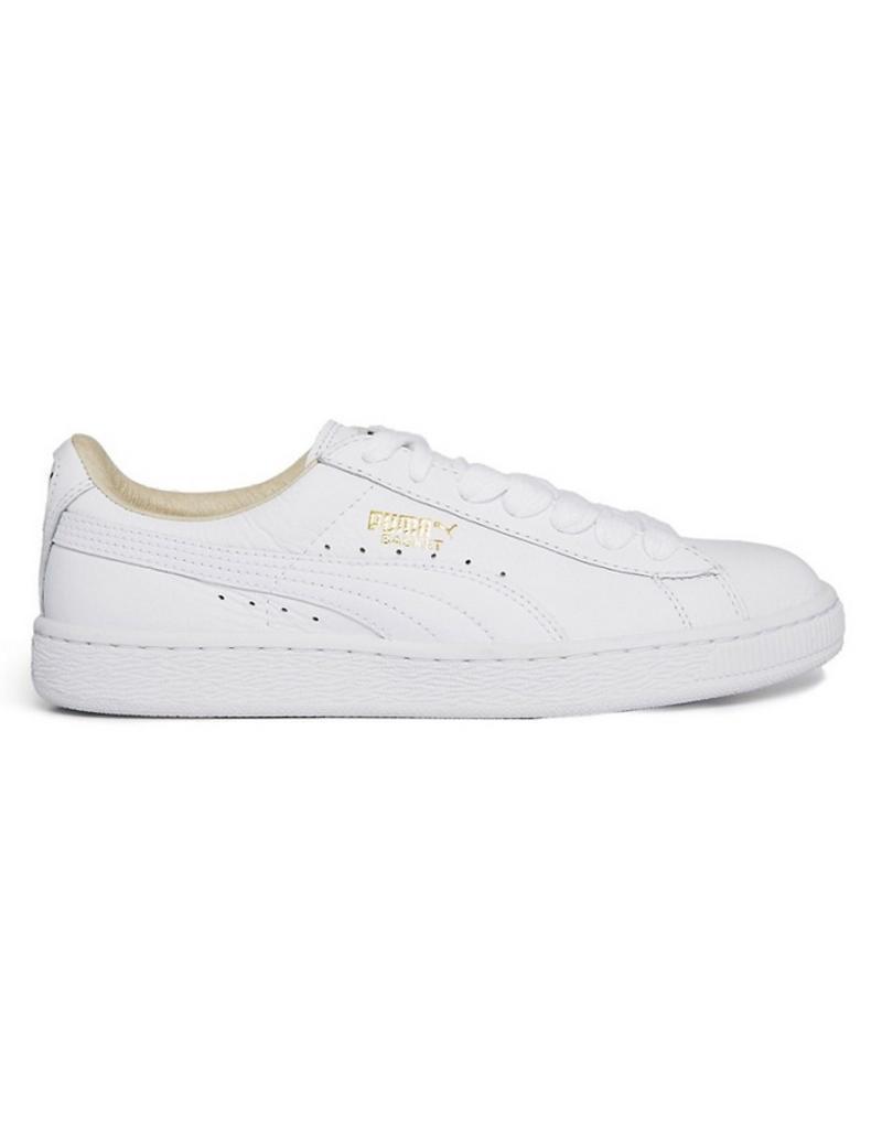 154203d470e Puma Puma Basket Classic LFS wit sneakers (354367-17) ...