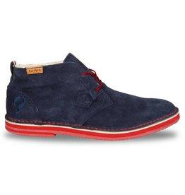 Quick Sorano II dark navy rosso heren schoenen