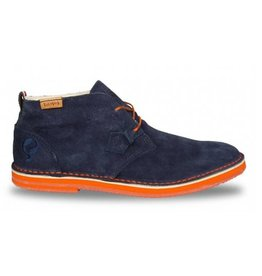 Quick Sorano II dark navy orange heren schoenen