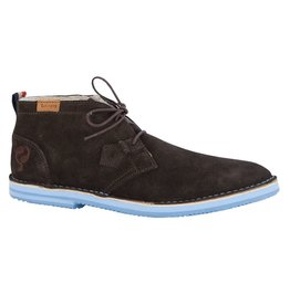 Quick Sorano II dark brown heaven blue heren schoenen