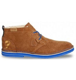 Quick Sorano II tan brown azurro heren schoenen
