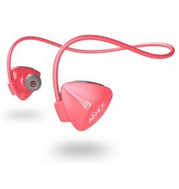 Avanca sportaccessoires D1 draadloze sport headset roze
