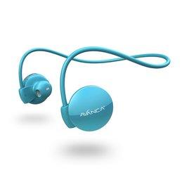 Avanca sportaccessoires S1 draadloze sport headset blauw uni