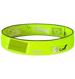 Flipbelt Runners waistbelt neon geel uni