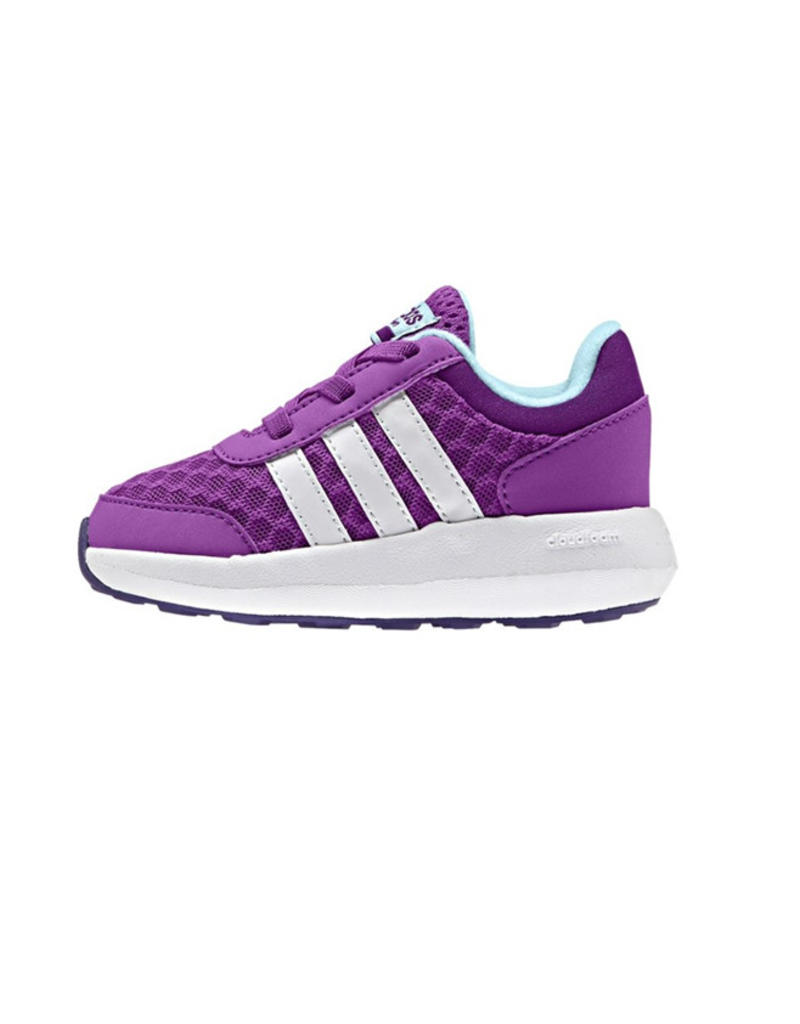 f7c5b455533 ... Adidas Adidas Neo Cloudfoam Race K paars sneakers baby peuter