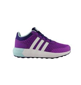 Adidas Neo Cloudfoam Race K paars sneakers baby peuter