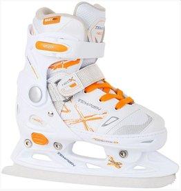 Tempish schaatsen Neo X Adjustable wit ijshockeyschaatsen meisjes