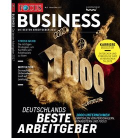 FOCUS-BUSINESS Die besten Arbeitgeber 2017