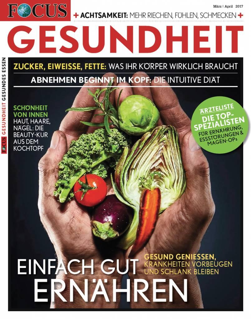 FOCUS FOCUS Gesundheit - Gesund Essen und Abnehmen 2017