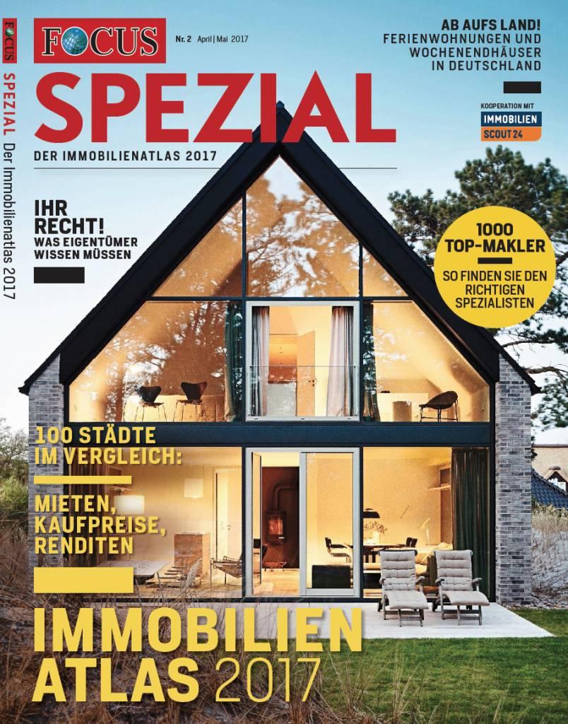 FOCUS-SPEZIAL FOCUS Spezial - Die besten Wohnlagen Deutschlands - 2017