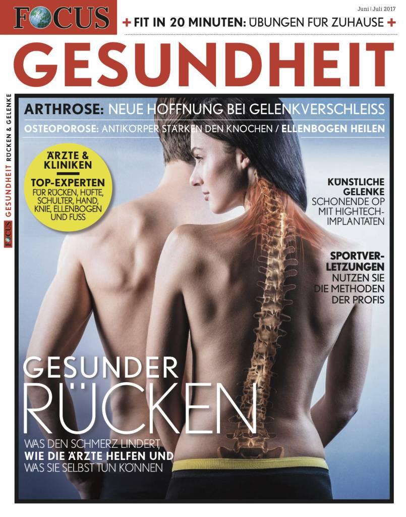 FOCUS-GESUNDHEIT FOCUS Gesundheit - Rücken & Gelenke 2017