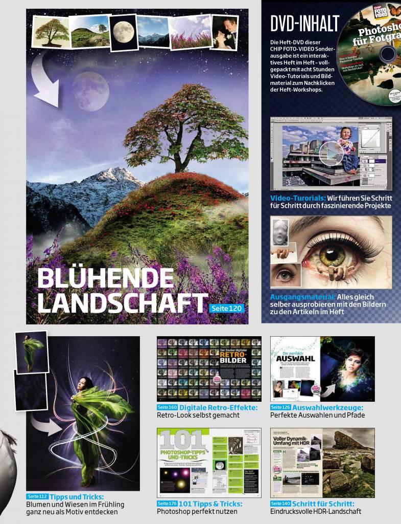 CHIP CHIP FOTO-VIDEO Sonderheft - Photoshop für Fotografen