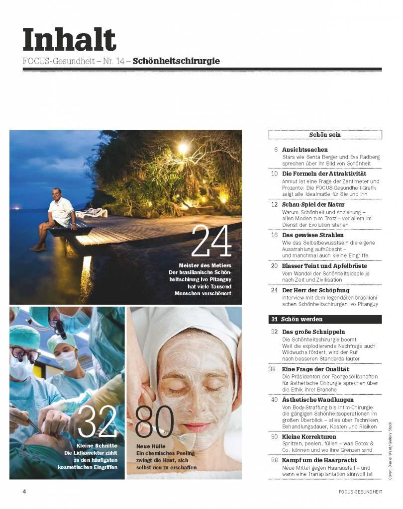 FOCUS-GESUNDHEIT Focus Gesundheit  - Die neuen Strategien zum Schönsein