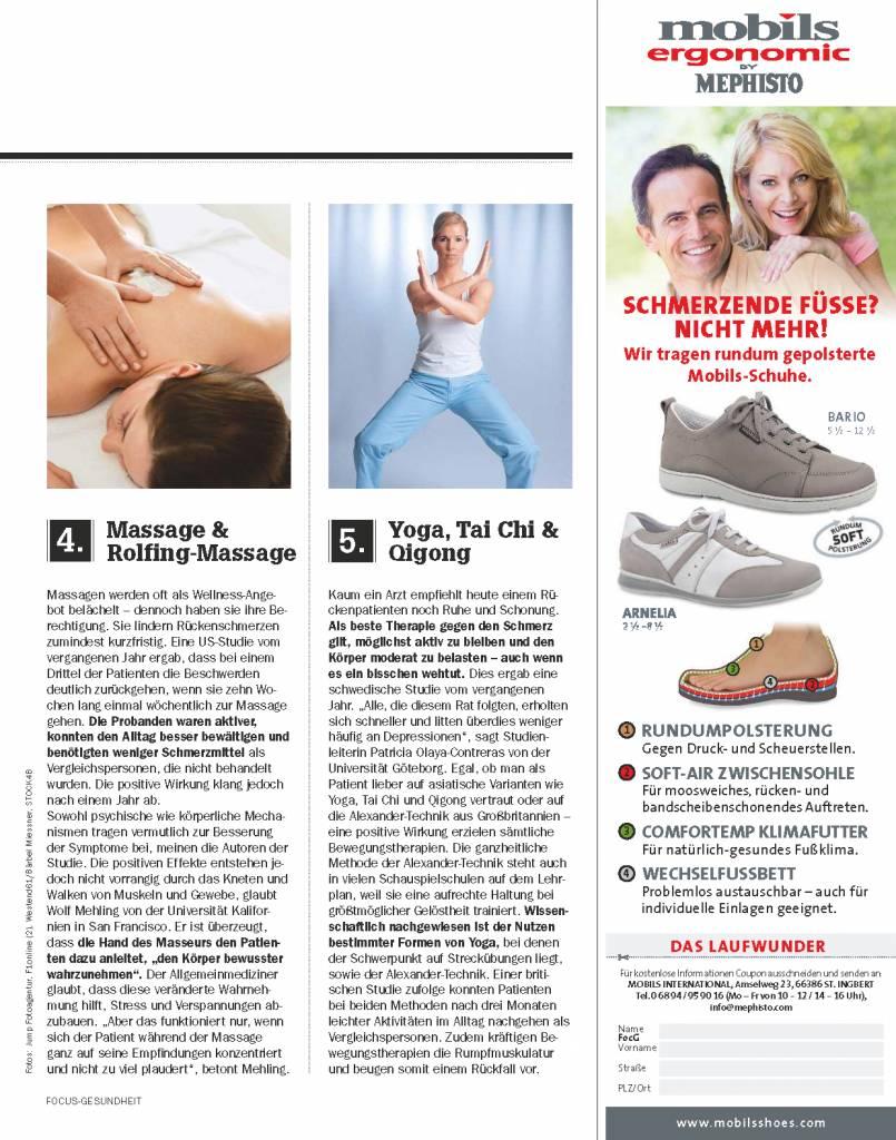 FOCUS-GESUNDHEIT FOCUS Gesundheit - Wenn der Rücken schmerzt