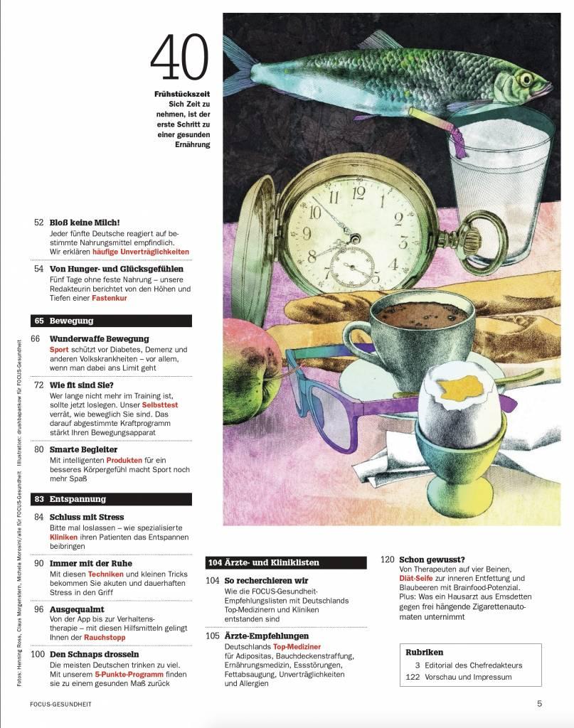 FOCUS-GESUNDHEIT FOCUS Gesundheit - Gesünder leben 2018