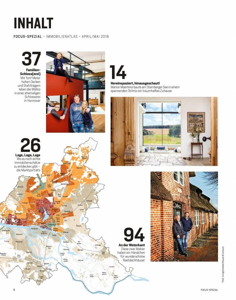 FOCUS-SPEZIAL FOCUS Spezial - Die besten Wohnlagen Deutschlands - 2018