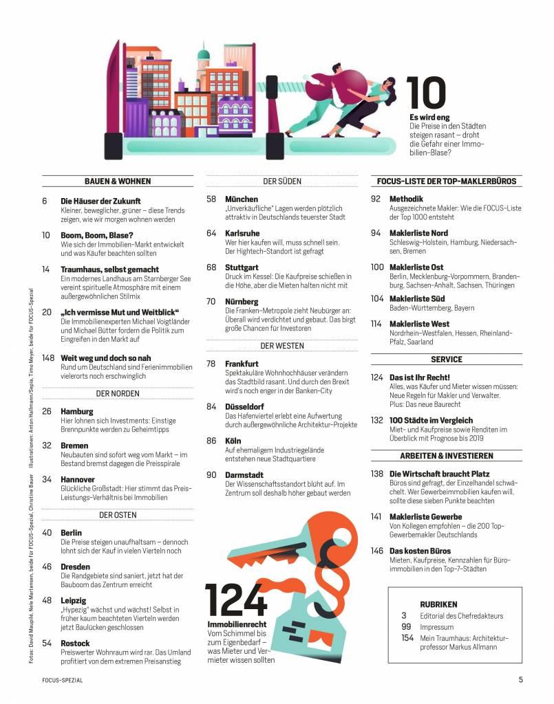 FOCUS FOCUS Spezial - Die besten Wohnlagen Deutschlands - 2018