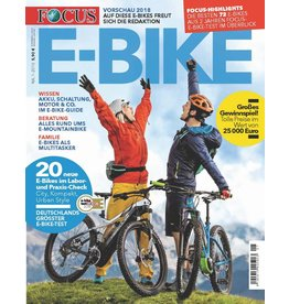 FOCUS Magazin E-BIKE Magazin 1/2018