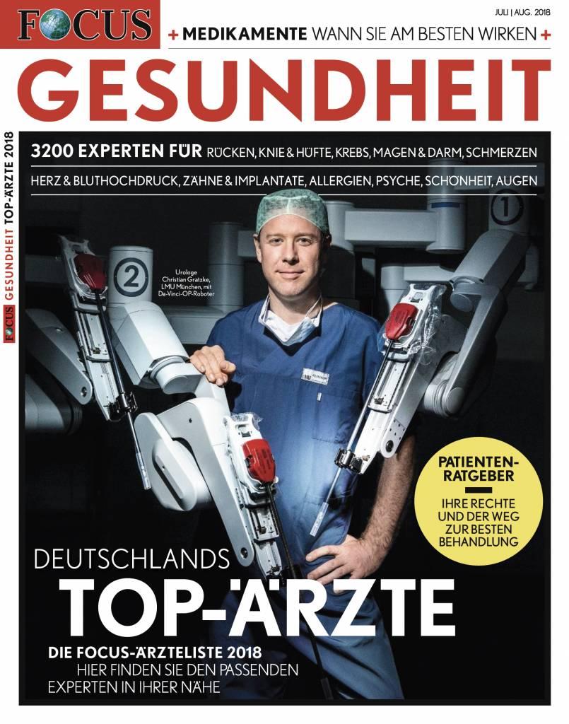 FOCUS-GESUNDHEIT FOCUS Gesundheit - Deutschlands Top-Ärzte 2018
