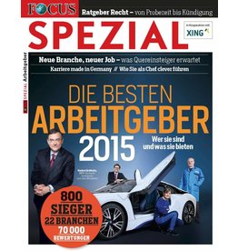FOCUS-SPEZIAL Die besten Arbeitgeber 2015