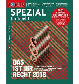 FOCUS-SPEZIAL Deutschlands Top-Anwälte  2018