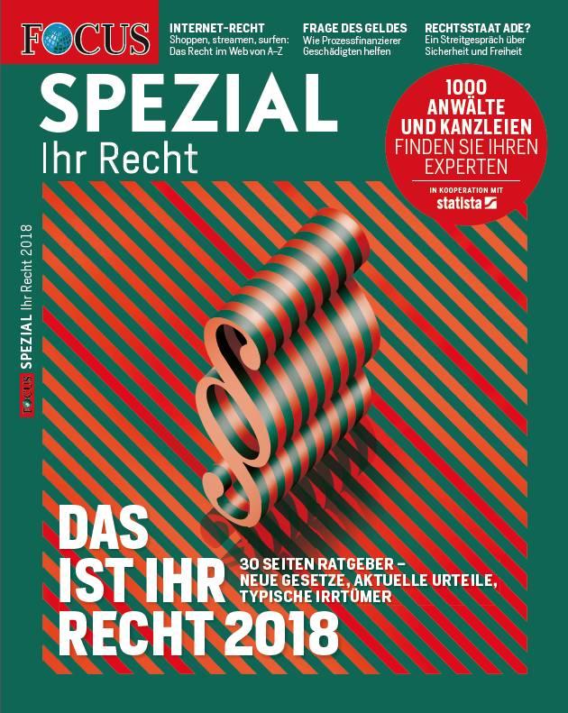 FOCUS FOCUS Spezial - Ihr Recht 2018