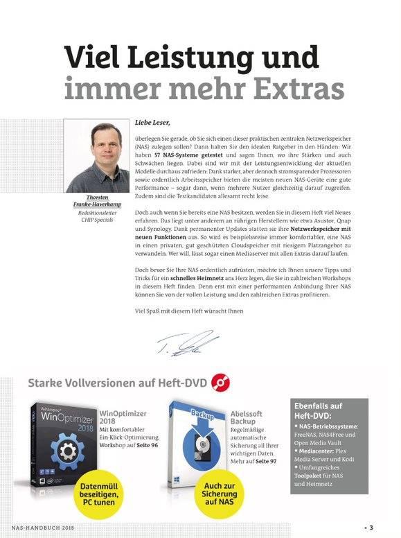 CHIP CHIP Kompakt -  NAS & Heimnetz 2018