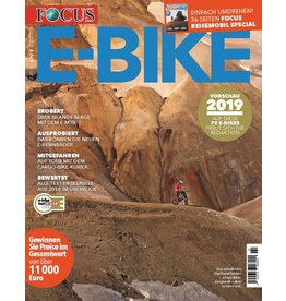 FOCUS Magazin E-BIKE Magazin 2/2018