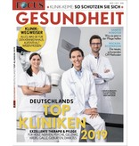 FOCUS    FOCUS GESUNDHEIT: Klinikliste 2019