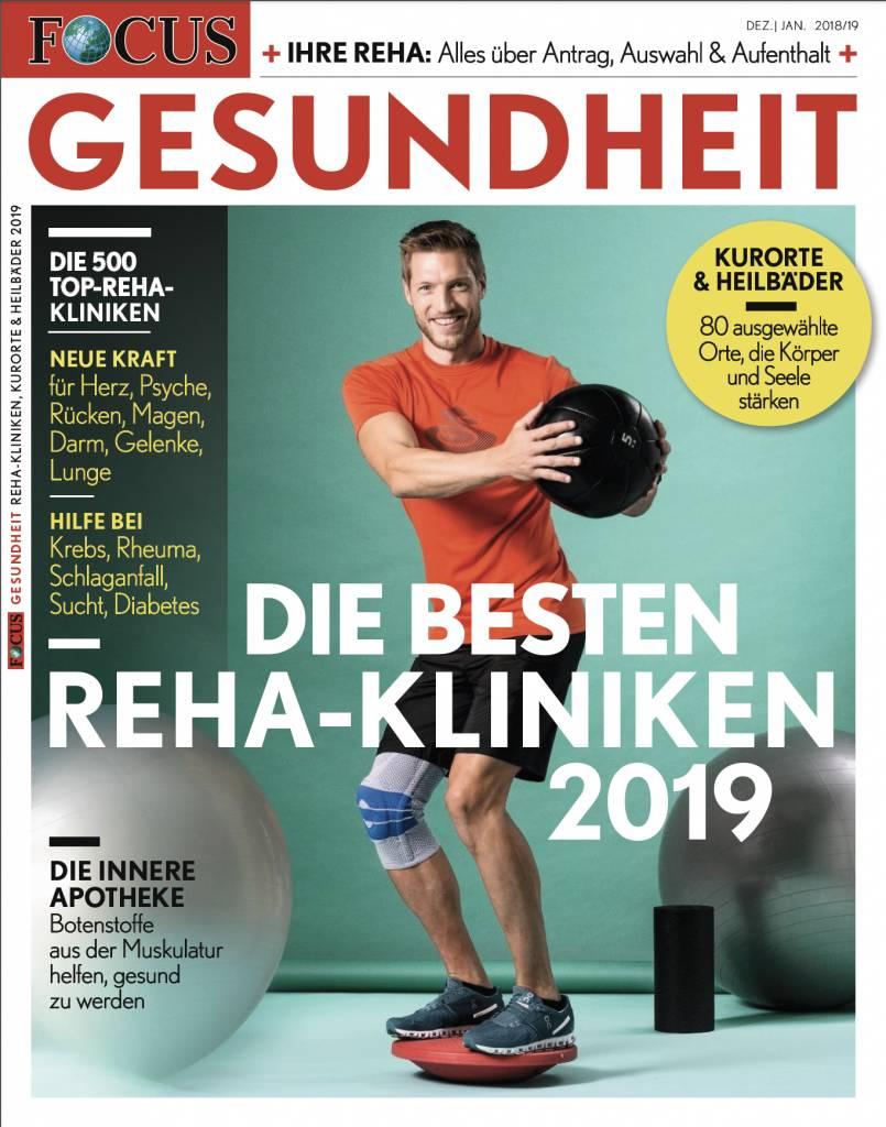 FOCUS GESUNDHEIT  FOCUS Gesundheit - Die besten Rehakliniken 2019
