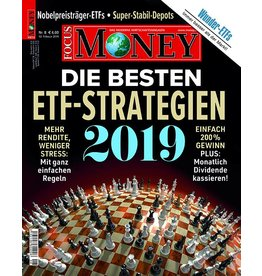 FOCUS-MONEY Die besten ETF-Strategien 2019
