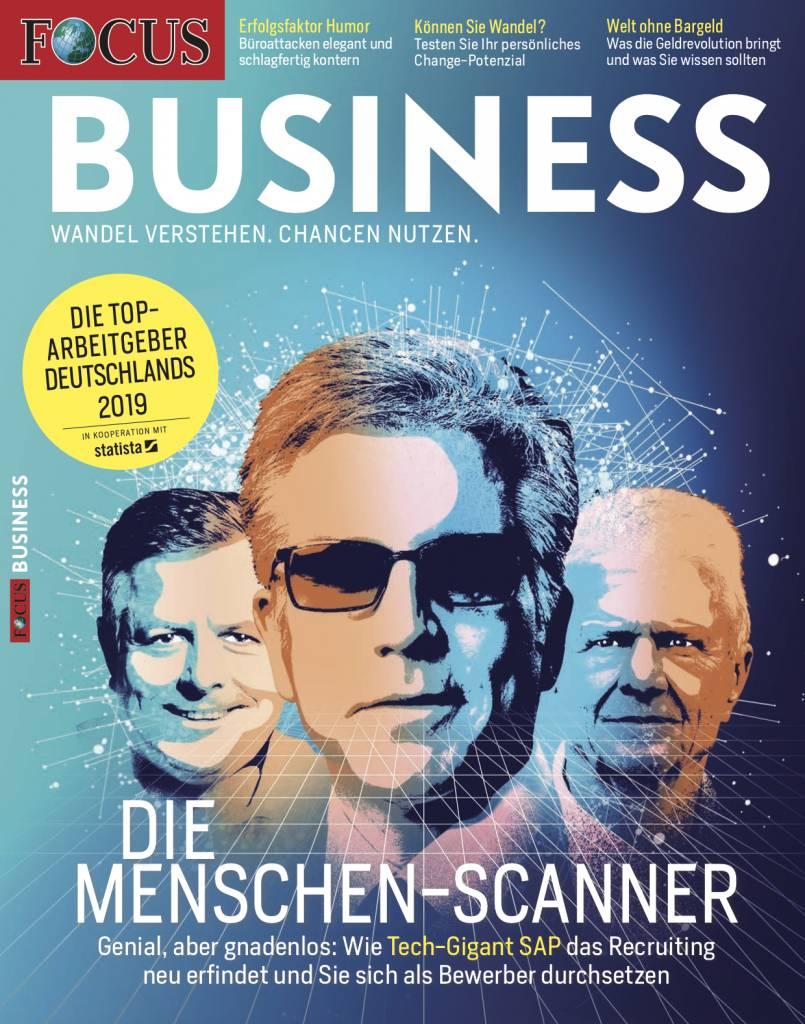 FOCUS-BUSINESS  FOCUS Business - Die besten Arbeitgeber 2019