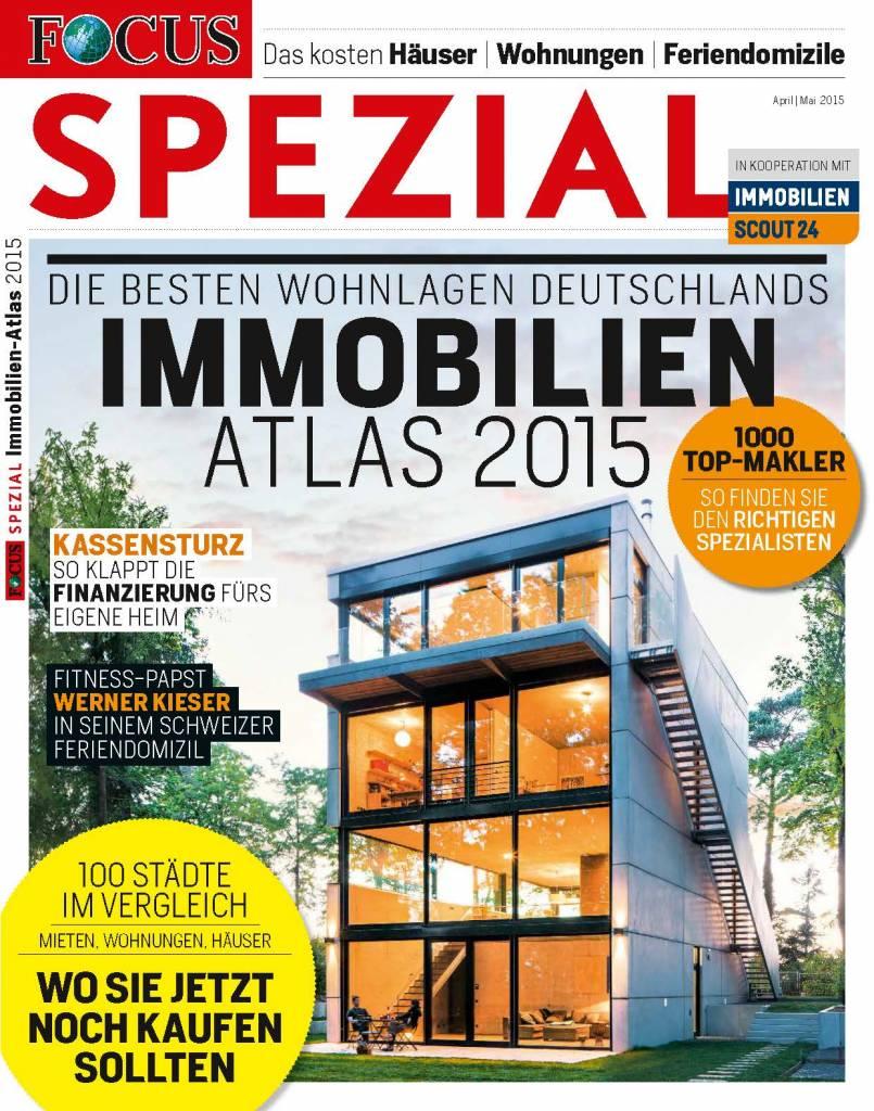 FOCUS-SPEZIAL FOCUS Spezial - Die besten Wohnlagen Deutschlands - 2015