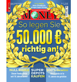 FOCUS-MONEY So legen Sie 50.000 Euro richtig an!