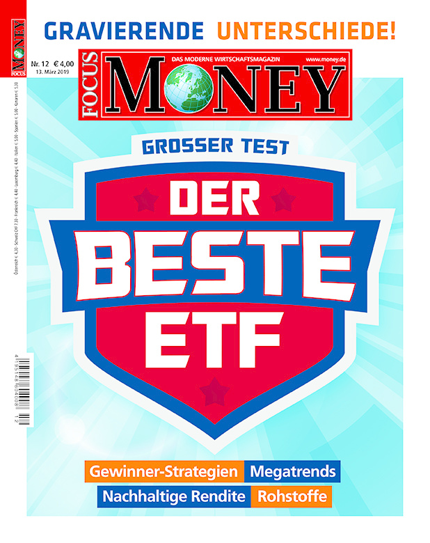 FOCUS-MONEY FOCUS MONEY – Großer Test: Der beste ETF