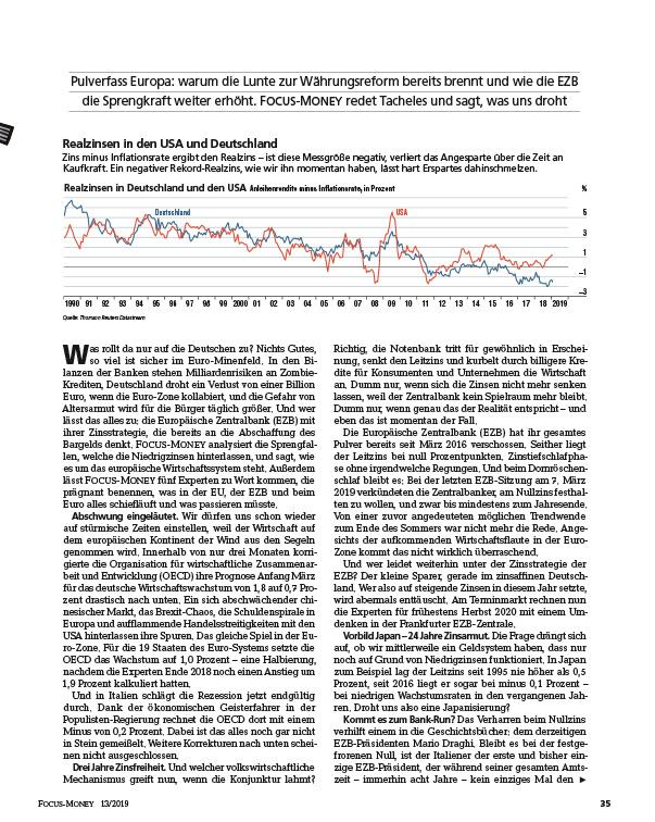 FOCUS FOCUS MONEY – Euro Währungsreform: Die Strategie für jeden Fall
