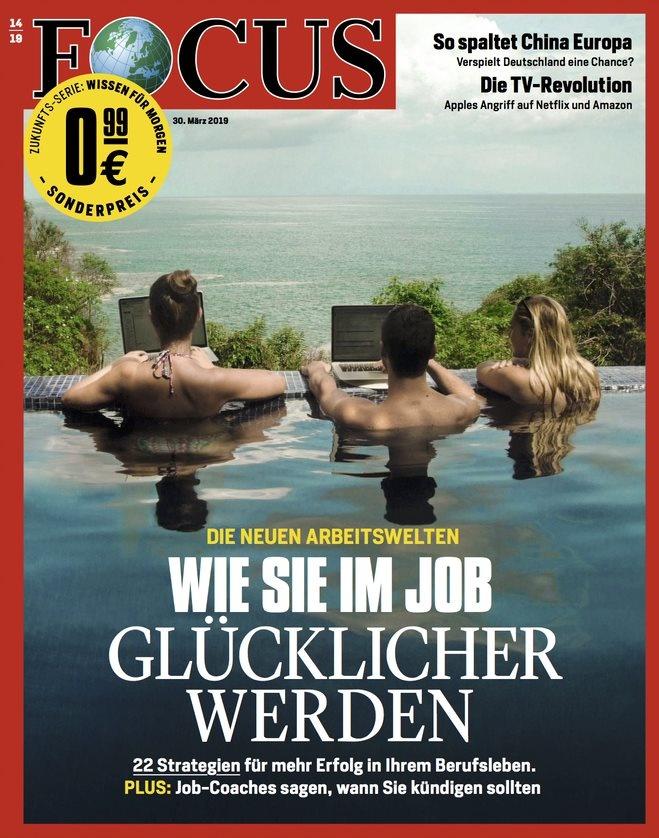FOCUS FOCUS Magazin - Wie Sie im Job glücklicher werden