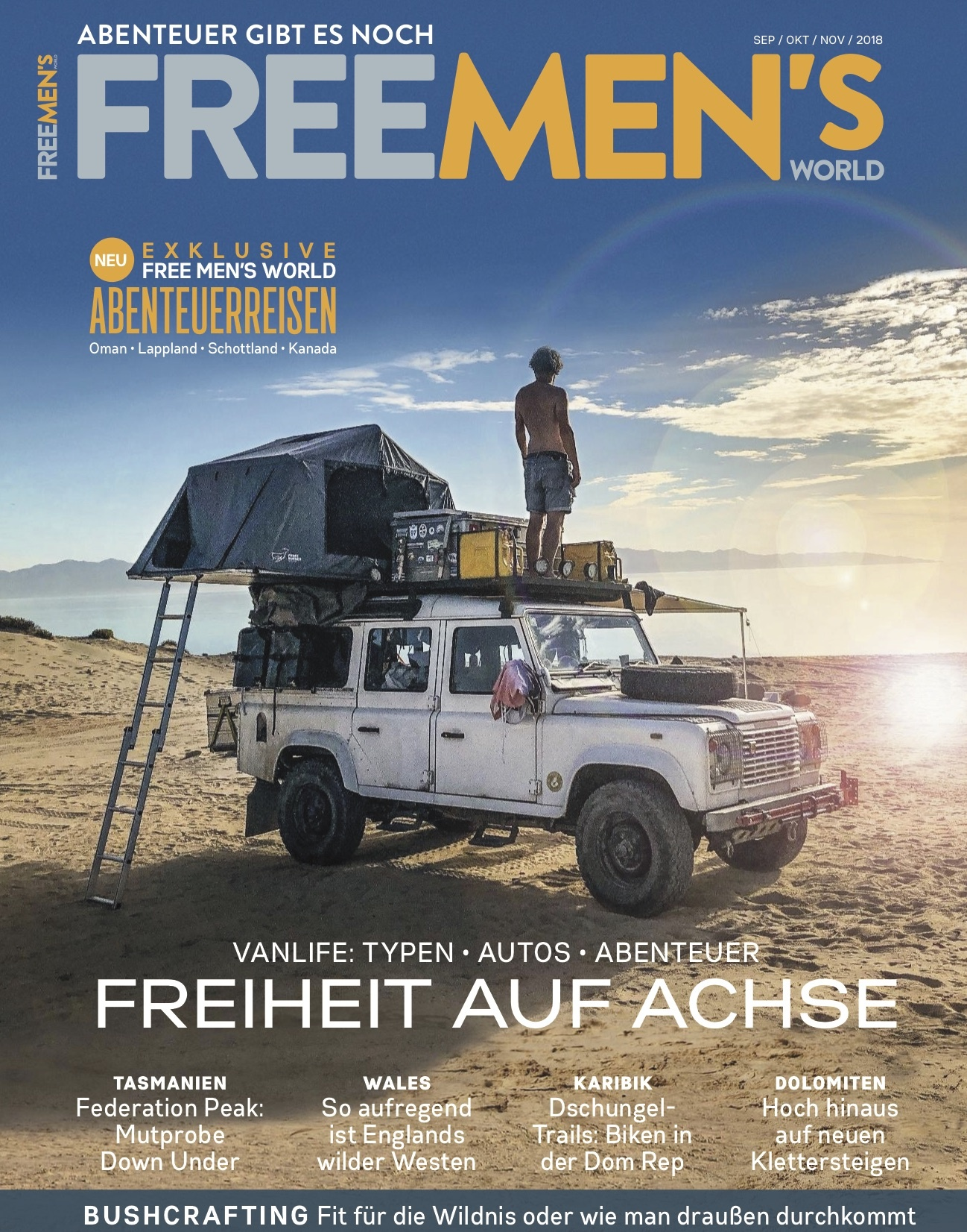 FREE MEN'S WORLD FREE MEN'S WORLD - Freiheit auf Achse