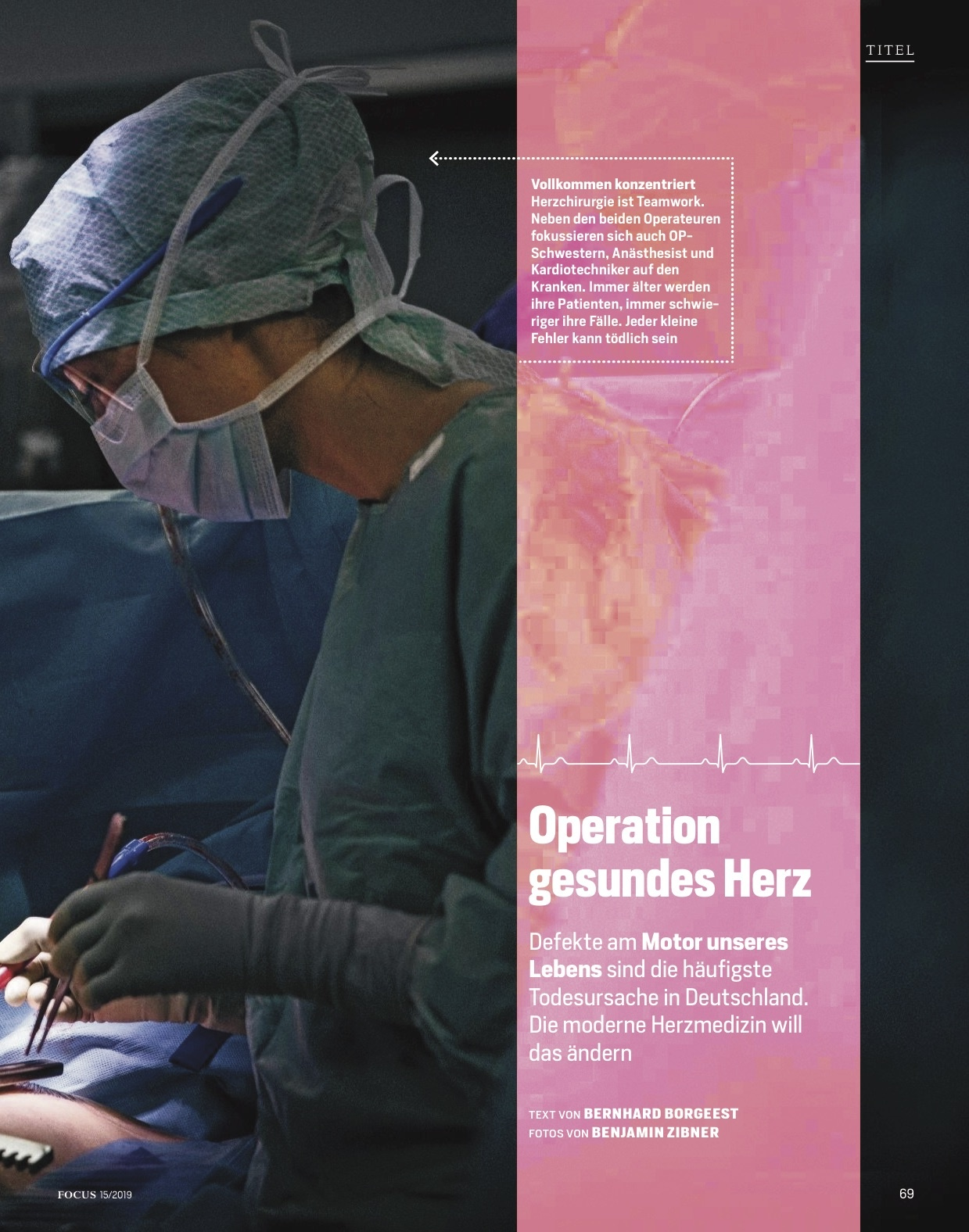 FOCUS Magazin FOCUS Magazin - Rettung für das Herz