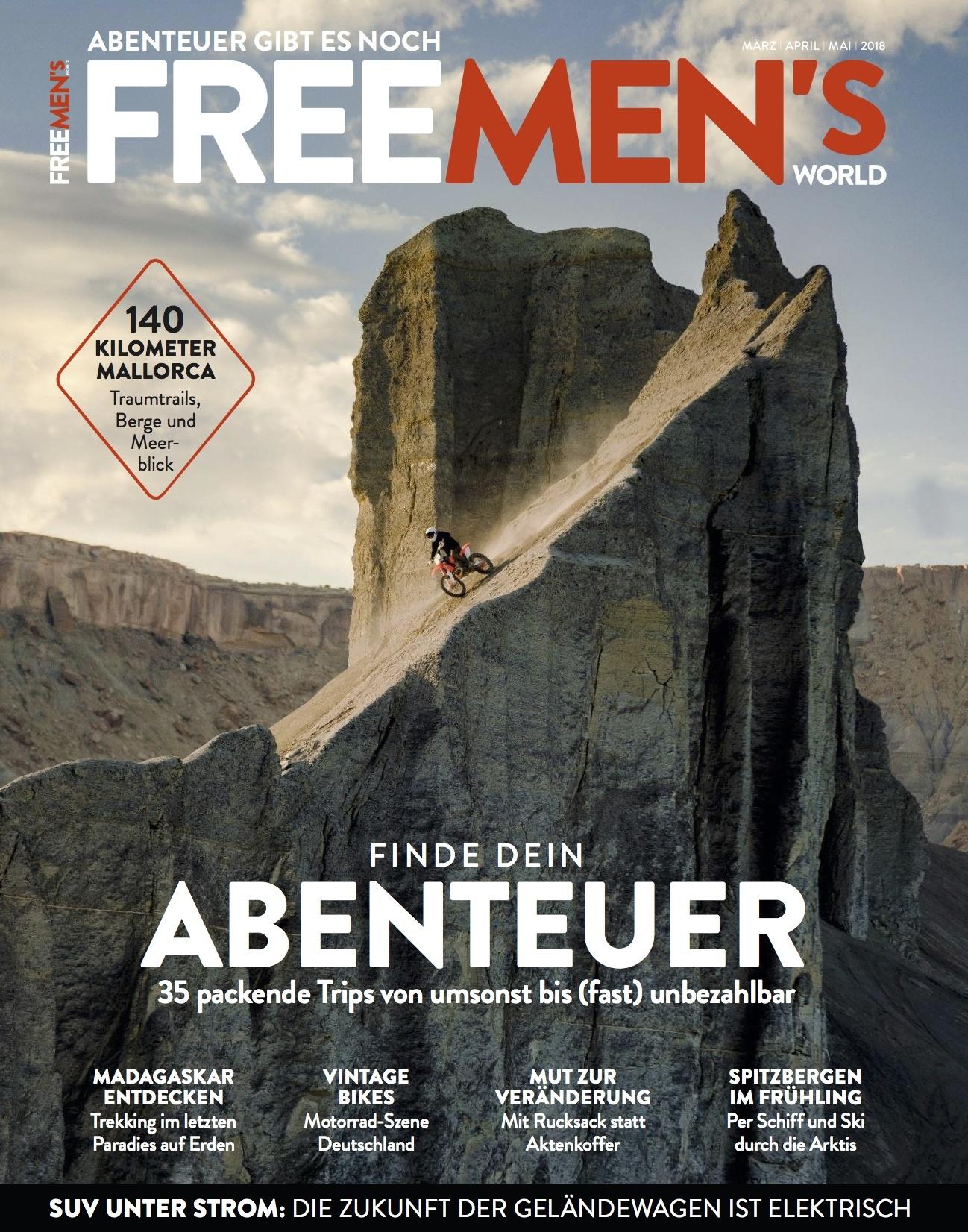 FREE MEN'S WORLD FREE MEN'S WORLD - Finde dein Abenteuer