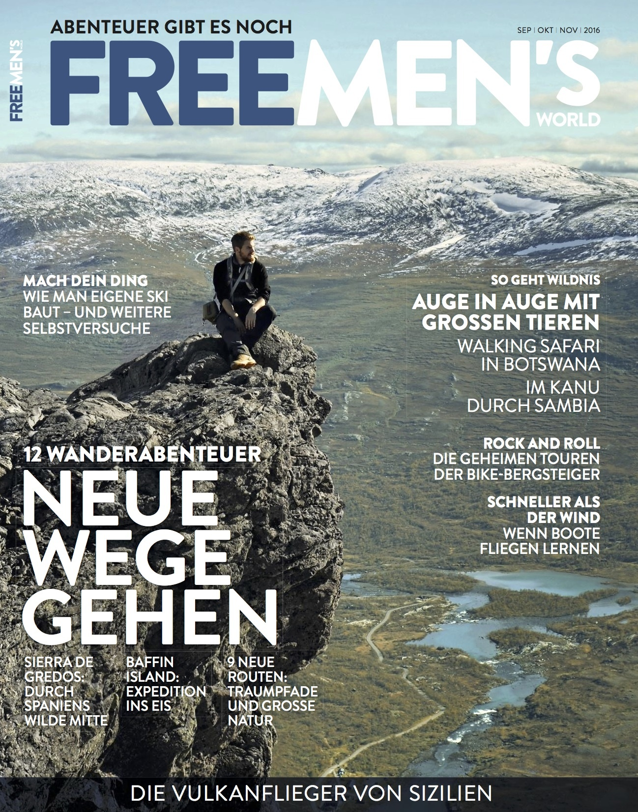 FREE MEN'S WORLD FREE MEN'S WORLD - Neue Wege gehen