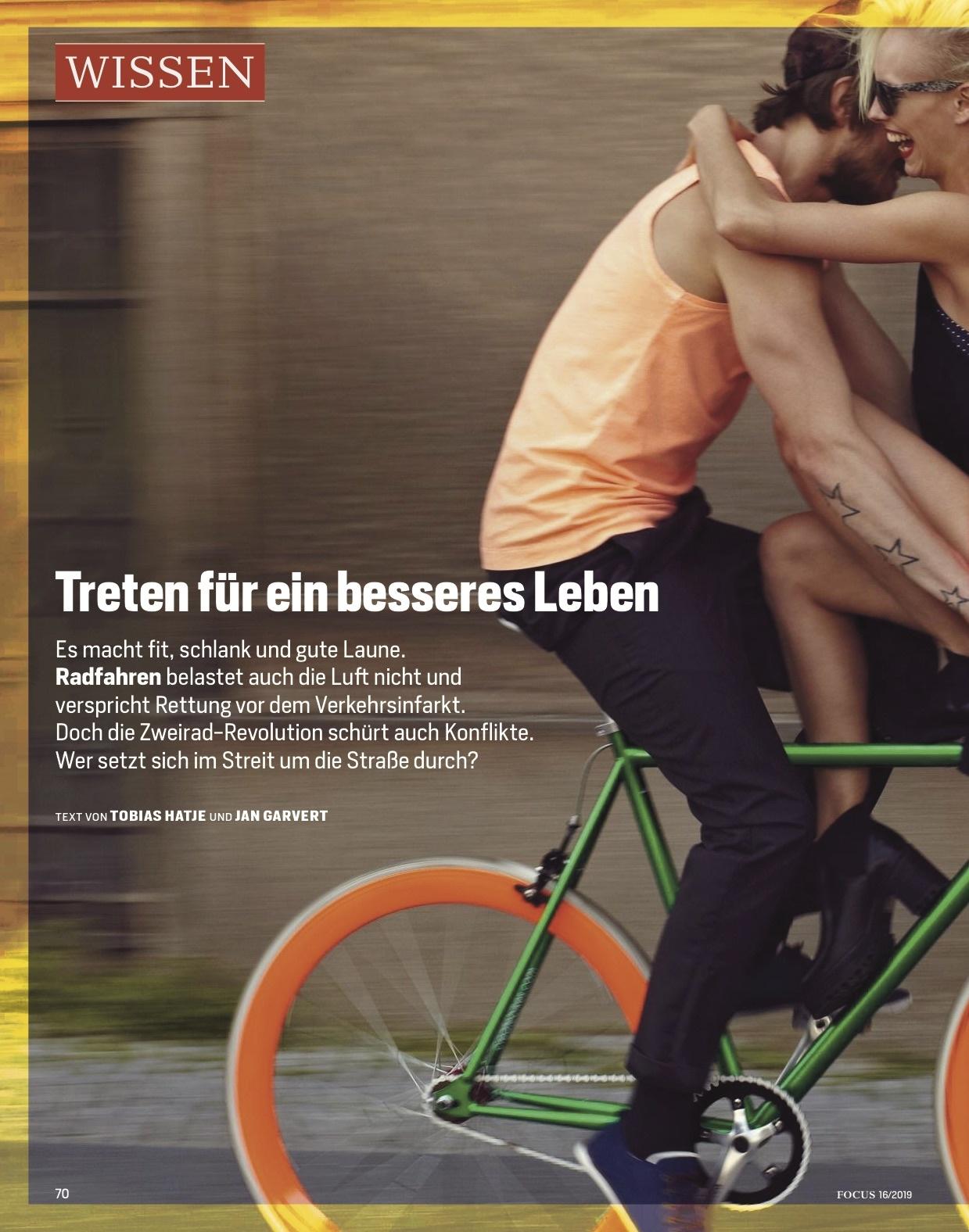 FOCUS Magazin FOCUS Magazin - Fahr Rad!