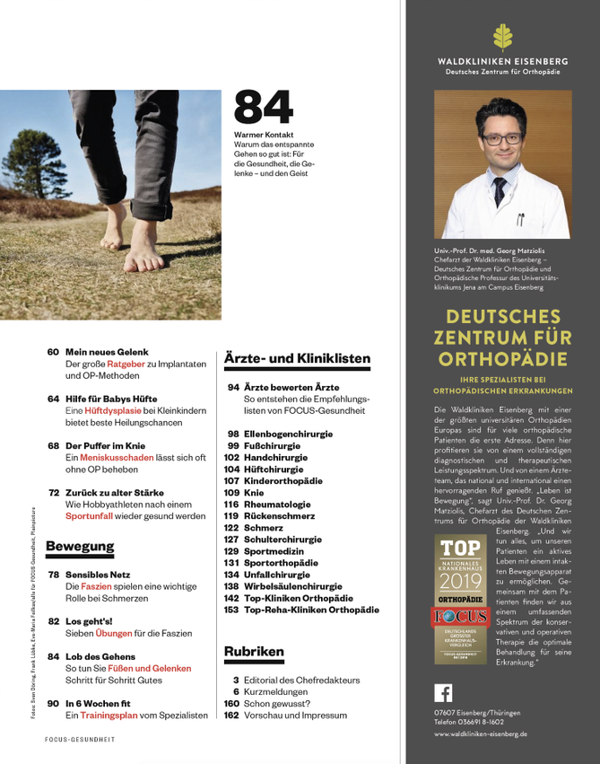 FOCUS-GESUNDHEIT FOCUS Gesundheit - Rücken & Gelenke 2019