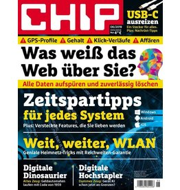 CHIP Was weiß das Web über Sie?