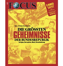FOCUS Magazin Die größten Geheimnisse der Bundesrepublik