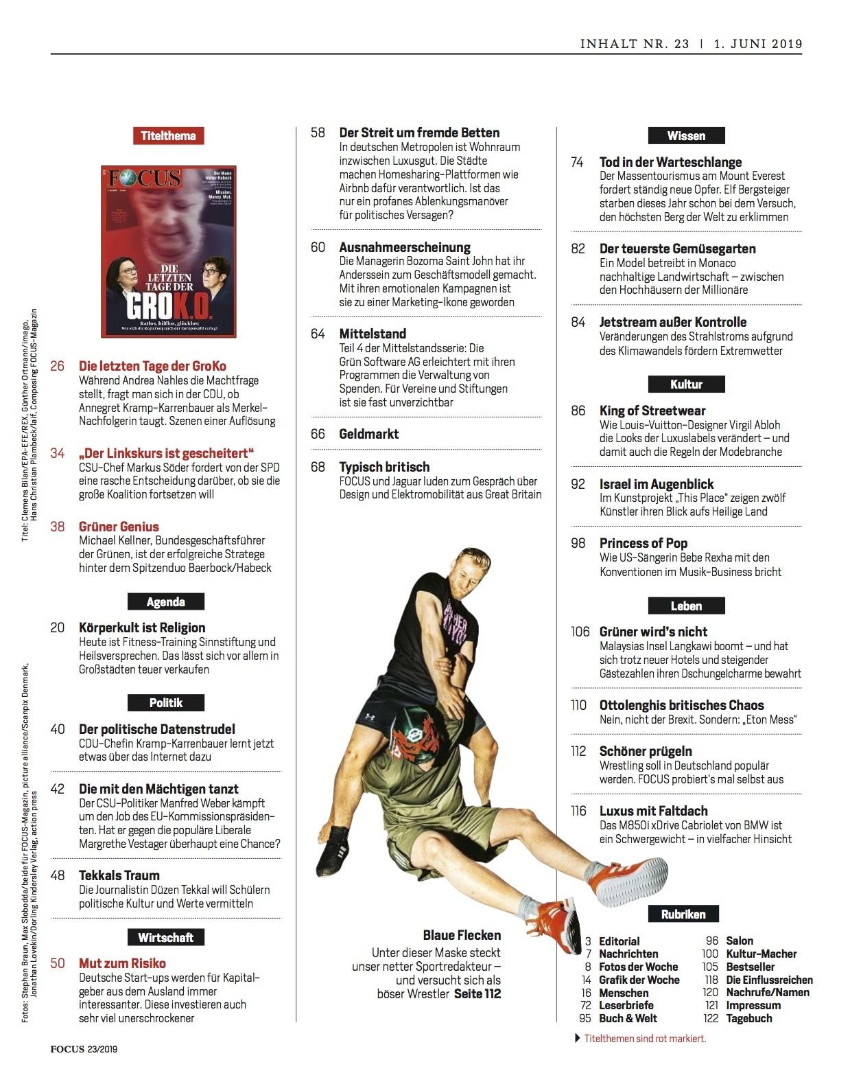 FOCUS FOCUS Magazin - Die letzten Tage der GROK.O.